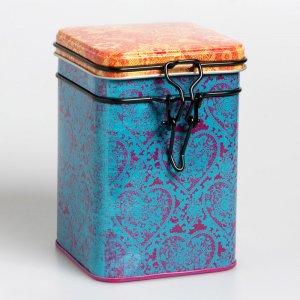 Die Teedose Indra in der Farbe Blau bringt Ruhe und Gelassenheit. Sie fasst 150 Gramm Deines Lieblingstees.