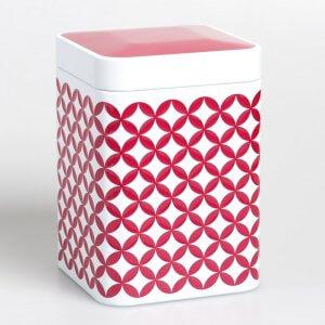Die hübsche Teedose May Lin hält durch ihren Premiumdeckel Deinen Tee immer frisch.